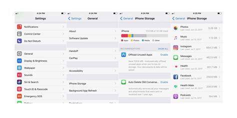 ios iphone ipad ios view ios 11 how to easily free up storage space on iphone and