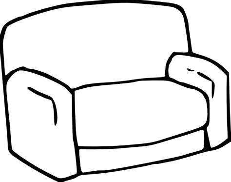 drawn couch sofa clip art at clker com vector clip art online