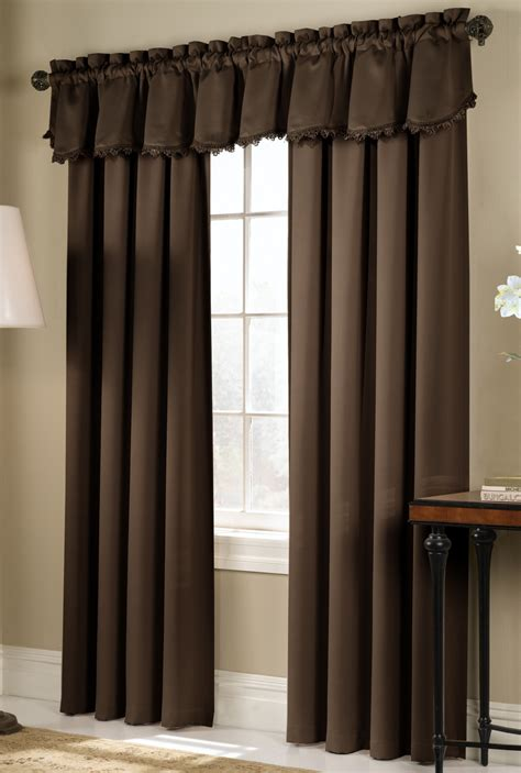 chocolate colored curtains blackstone curtain panels taupe united curtains view all
