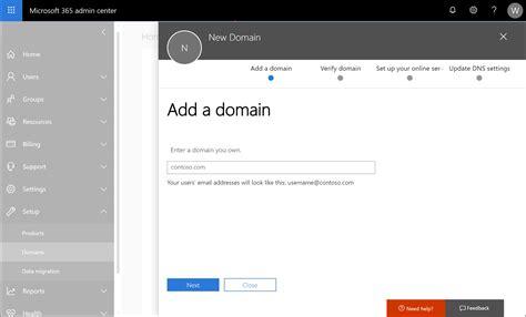 configure  custom domain  microsoft intune