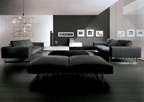Living Room Modern Design Black And White Decora 231 227 O De Salas Modernas 15 Fotos E Projetos
