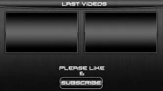 Sony Vegas Outro Template by Black Outro Template For Sony Vegas Pro 11
