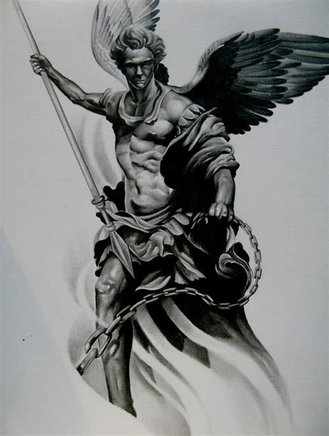 saint michael tattoo designs best tattoo designs