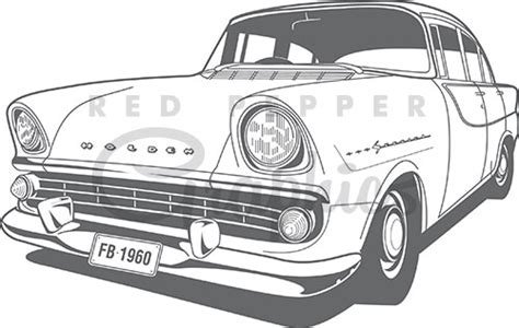 coloring pictures of holden cars red pepper graphics vintage style clipart graphics old