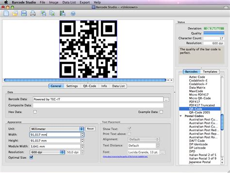 Software Barcode For Mac free rocket desktop bar