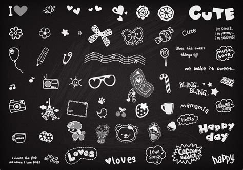 how to create doodle in photoshop doodles brushes free photoshop brushes at brusheezy