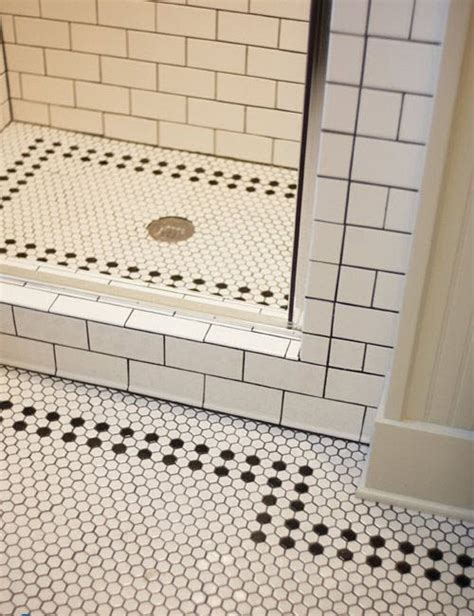 bathroom floor tile patterns 37 black and white hexagon bathroom floor tile ideas and pictures