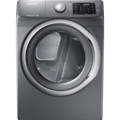 Samsung Dryer Troubleshooting by Samsung 7 5 Cu Ft Gas Dryer With Steam In Platinum