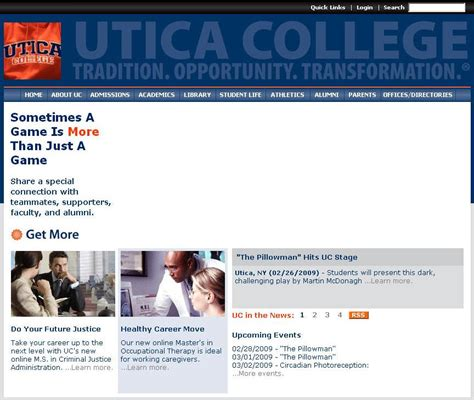 Utica College Mba Program by Utica College Degrees Reviews Tuition Location