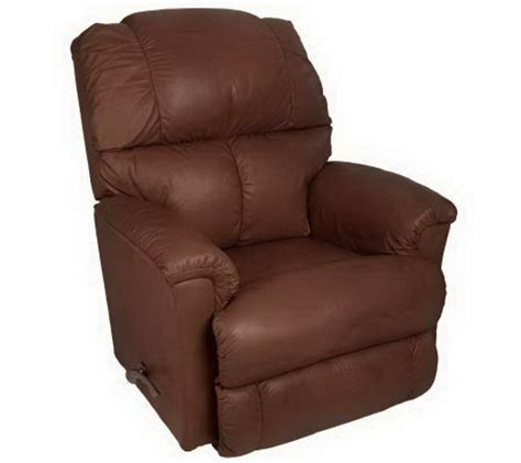 la z boy leather rocker recliner la z boy 85th anniversary leather rocker recliner qvc com