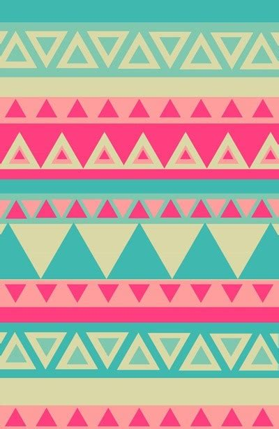 tribal pattern pastel wallpaper pattern palette via graphic design aztec