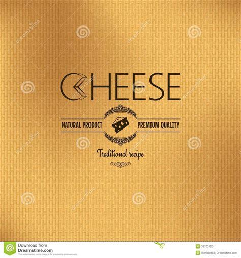label design background cheese vintage label design background stock photo image