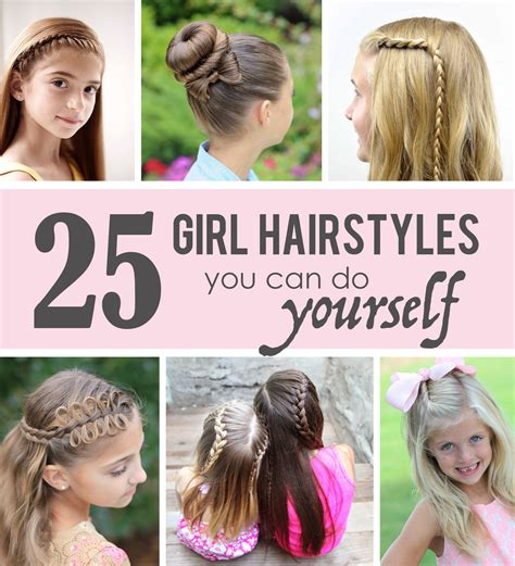 hairstyles you can do on yourself 25 little girl hairstyles you can do yourself make it