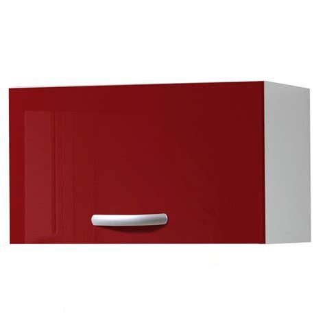 meuble cuisine haut leroy merlin meuble de cuisine haut 1 porte brillant h35x l60x