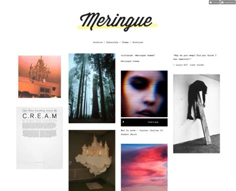 tumblr themes free awesome tumblr grid themes 30 awesome free design xdesigns