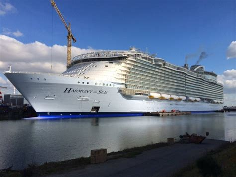 royal caribbean largest ship royal caribbean s harmony of the seas is the biggest