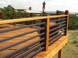 Patio Railing Designs Cheap Deck Railing Ideas Architectural Design