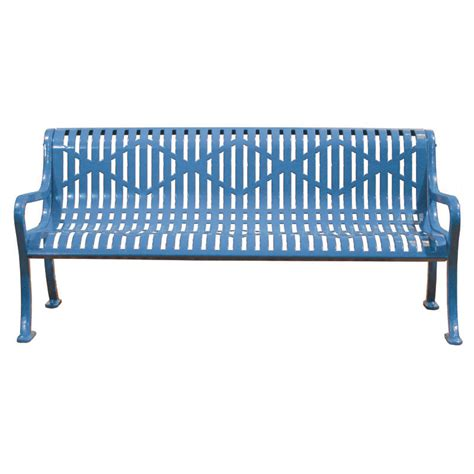 metal bench with back 6 diamond metal bench with back childforms
