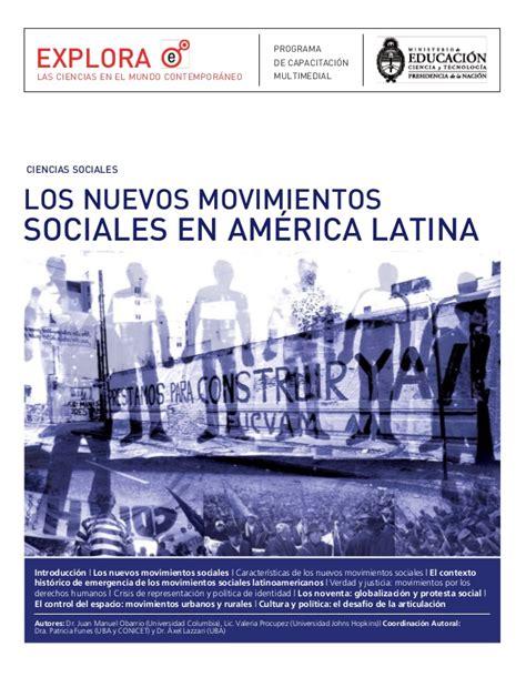 am rica latina en movimiento movimientos sociales en amrica i la lucha de sociologia