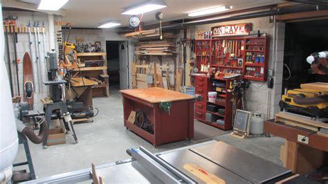George S Basement Workshop The Wood Whisperer Basement Workshop
