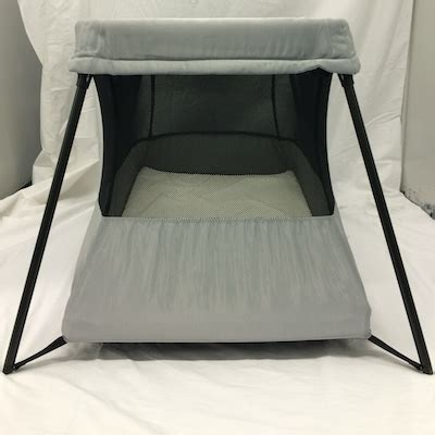 Baby Bjorn Travel Crib Black Travel Crib Travel Crib Light Light Brown Babybjrn Babybjorn Travel Crib Light 2 I