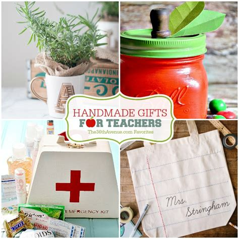 Handmade Gifts For Teachers - handmade gifts for teachers the 36th avenue