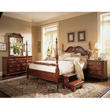 cherry grove new generation four poster bedroom collection american drew cherry grove four poster customizable