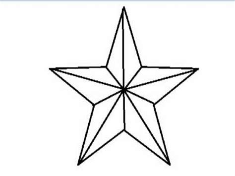 how to draw a star youtube