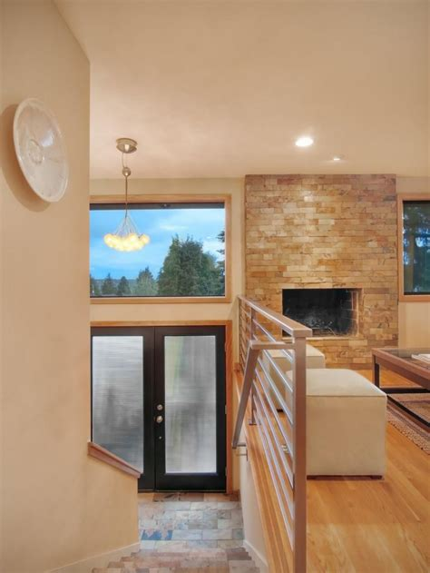 modern home receives makeover
