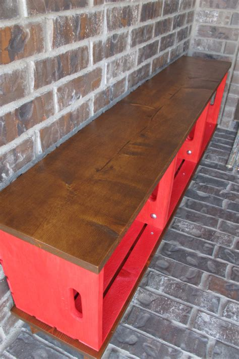 wooden crate bench diy crate bench diy outdoor furniture painted furniture
