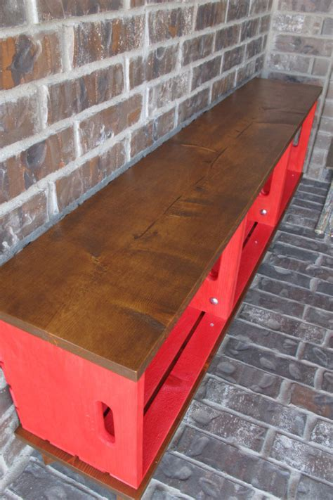 diy crate bench diy outdoor furniture painted furniture