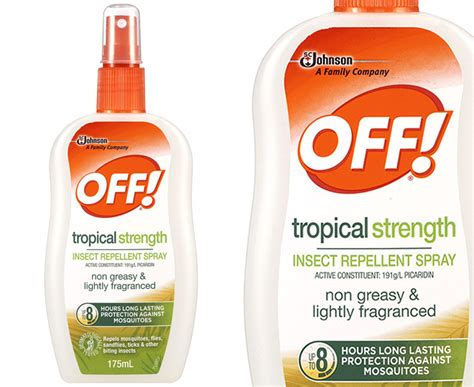 off tropical strength insect repellent spray 175ml great