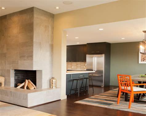 modern corner fireplace beautiful homes design