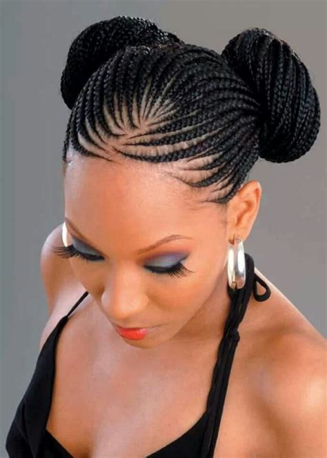 black woman twist hair styles up in pony tails 66 of the best looking black braided hairstyles for 2018