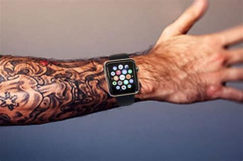 watch tattoo on wrist apple 163 300 gadget won t work if you ve got tattoos