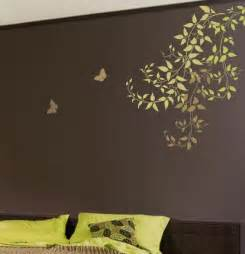 wall stencils for bedrooms wall stencil large clematis branch reusable stencil for easy