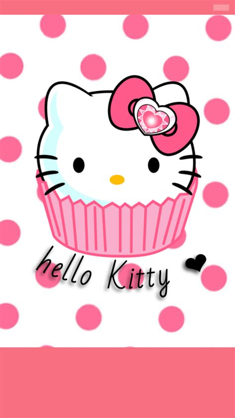hello kitty cake wallpaper hello kitty cupcake wallpaper by foreverresa on deviantart
