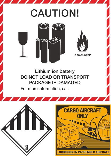 Adressaufkleber Englisch by Transportvorschriften F 252 R Lithium Ionen Akkus C T Magazin