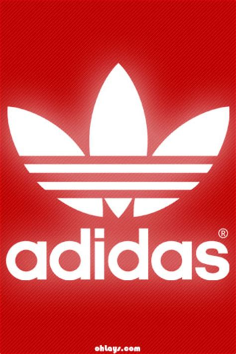 adidas wallpaper red red adidas iphone wallpaper 1186 ohlays