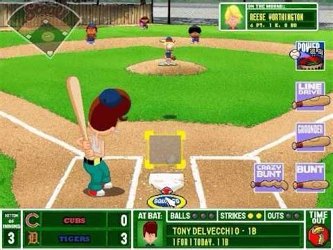 backyard baseball pc game backyard baseball 2001 gameplay youtube