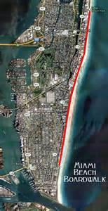 florida boardwalk map miami boardwalk map