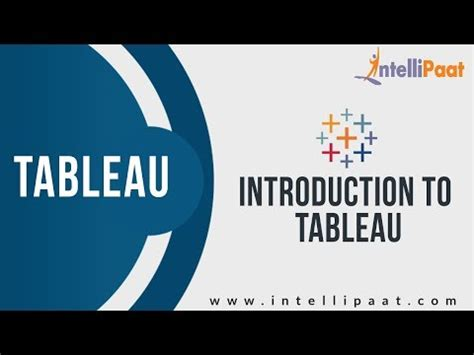 tableau introduction tutorial learn business intelligence reporting tools online