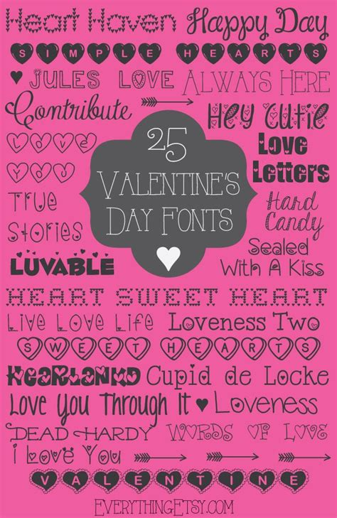 valentine s day fonts free
