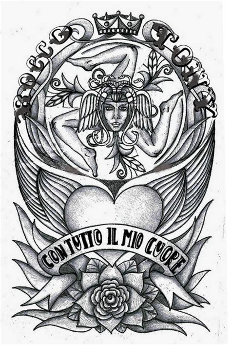 sicilian symbols tattoos trinacria siciliana photos pictures to pin on