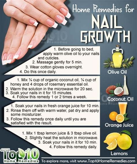 home remedies for nail growth top 10 home remedies