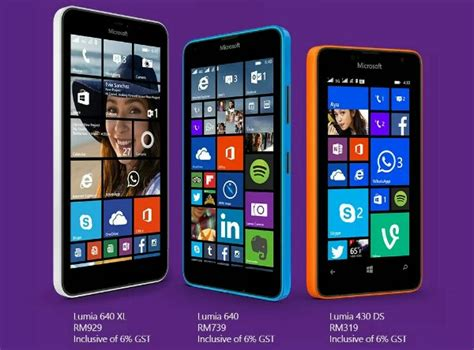 Microsoft Lumia 640 Malaysia microsoft lumia 640 and lumia 640 xl announced for