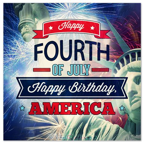4th Of July Birthday Quotes by Happy 4th Of July Messages