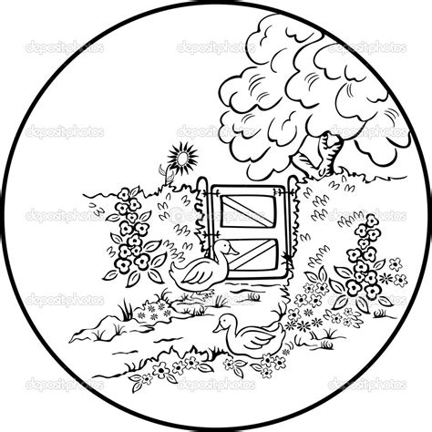 coloring pages nature scenes beautiful nature scenes coloring pages coloring page for