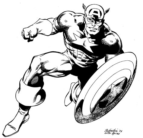 Coloriage Captain America Coloriage Captain America Imprimer