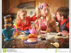Junk Food Mother Acting Like Children Stock Photo - Image ... Junk Food Background